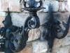 kovácsoltvas falilámpák