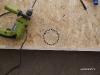 kollektor keret - lyuk a csöveknek