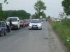 a Dévaványa - Gyomaendrőd közötti út temetése - rendőrség