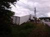 kamion az árokban