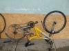 Szétszedett kerékpár