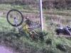a bicikli kerék nélkül