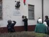 Dévaványa, 2014 március 15 - Kossuth-emléktábla koszorúzás