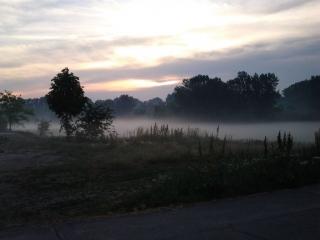 köd hajnalban