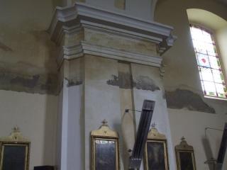 beázás a templomban