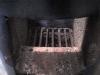 rács előlről - kályha készítése