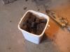 kovácsszén - kályha készítése