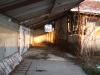 disznóól bentről palával - tyúkól építés