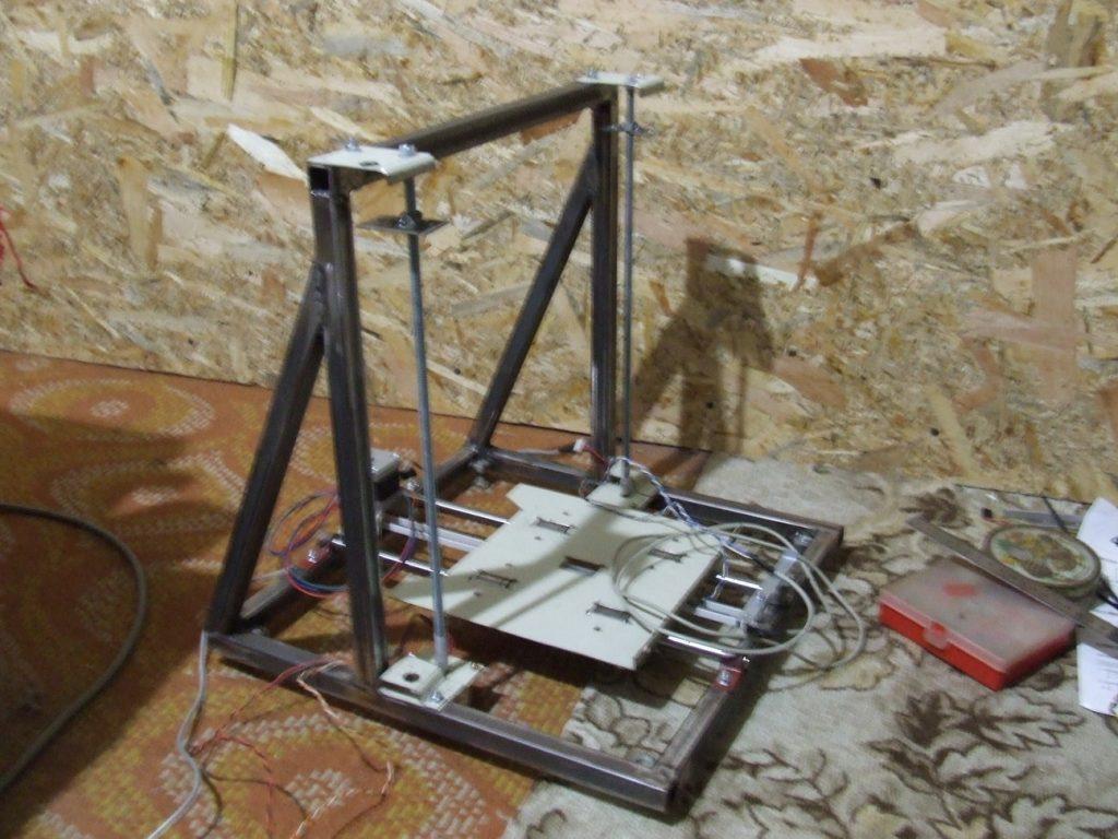 3d nyomtató építése - z tengely