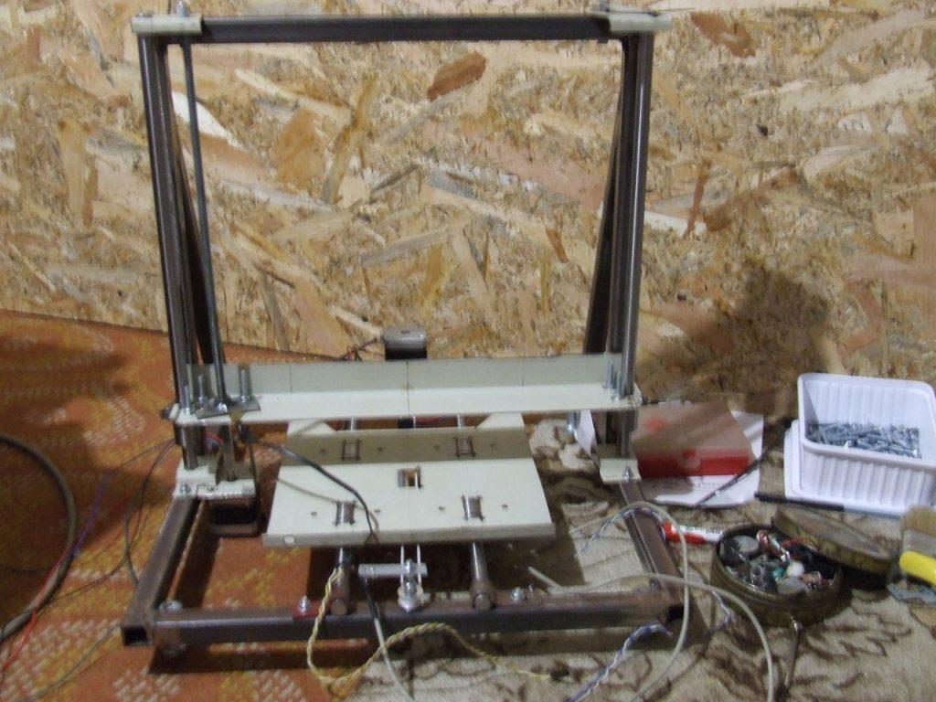 3d nyomtató építés