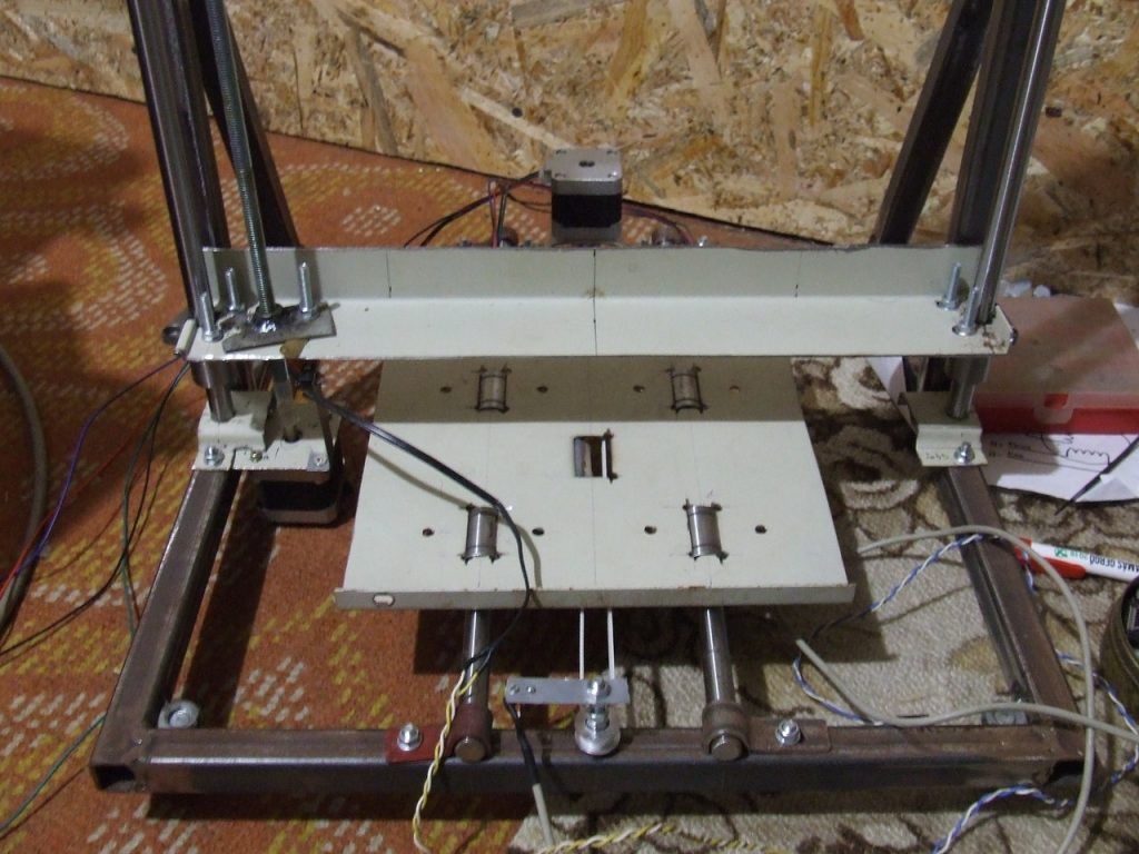 3d nyomtató építése