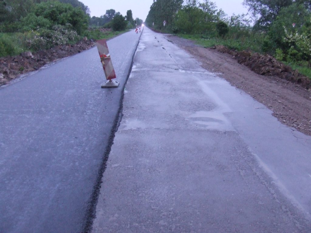 Gyomai út, 4231-es közút, felújítás