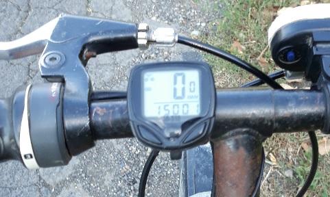 Kerékpár km óra a Wish-ről.