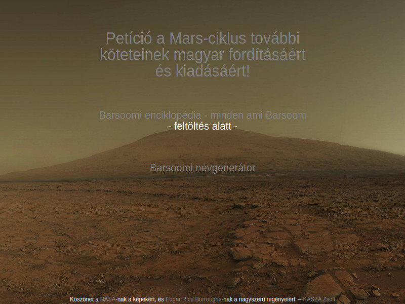 barsoom.hu régi design