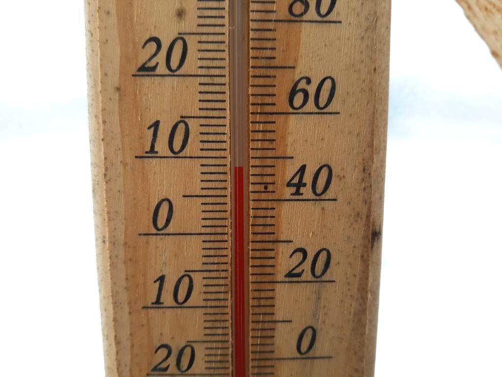 Házilag épített fóliasátor téli hőmérséklet