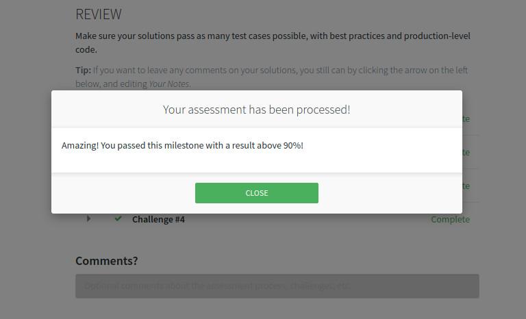 Codecool 2. milestone test